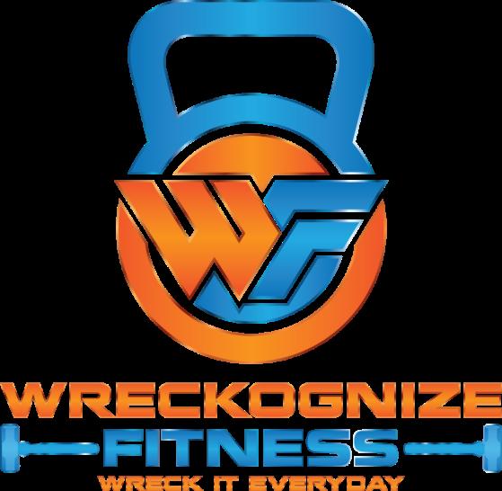 Wreckognize Fitness - Blue & Orange
